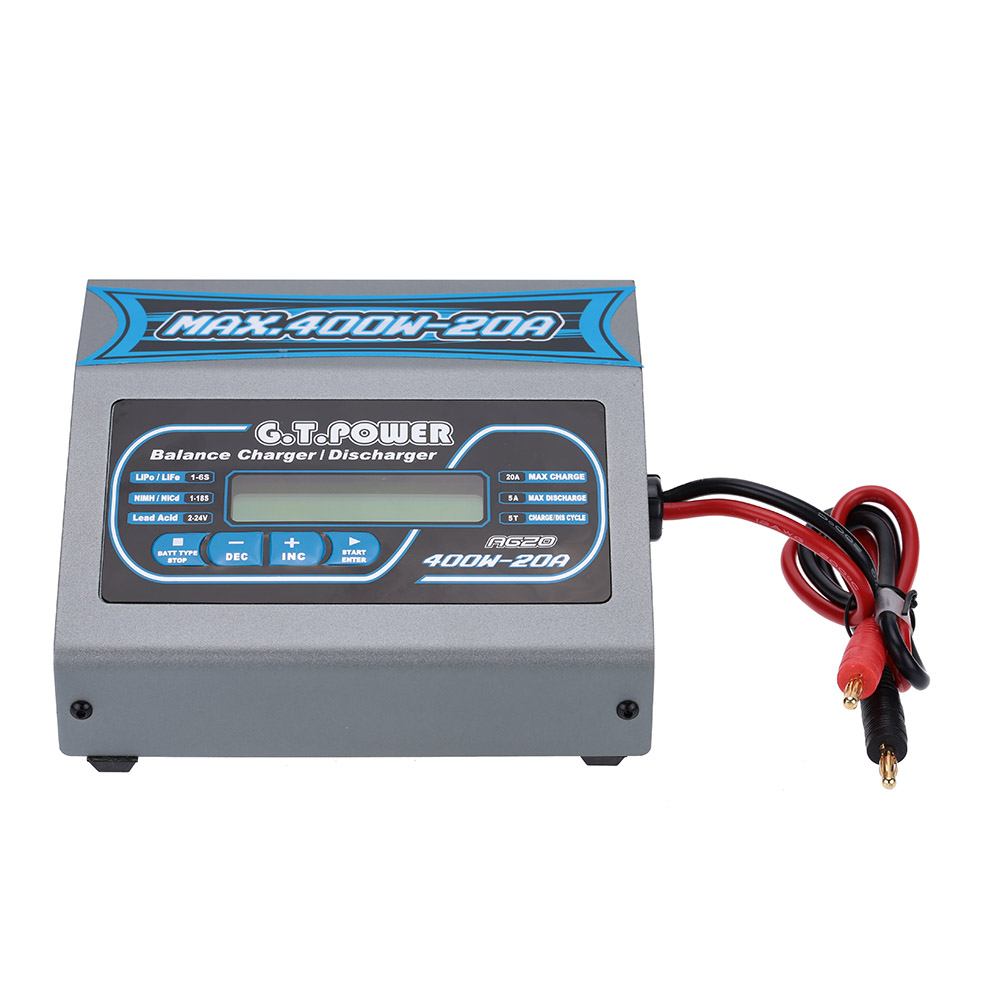 Gtpower A620 400w Lipo Life Lion Nicd Nimh Intelligent Battery Electronics Electricity Gt Optical Fiber Cable Wire Power Charger Discharger