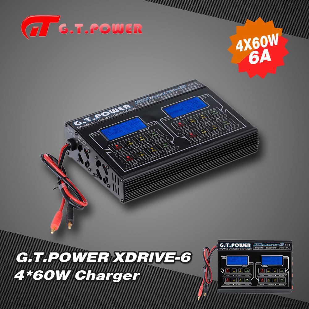 Gtpower Xdrive 6 460w Liio Lipo Life Nimh Nicd Battery Balance How To Build And Charger Circuit