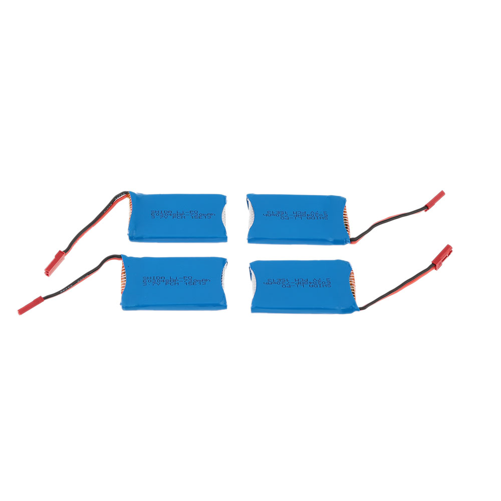 Super Fly 4-port Fast Charger Sets with 3.7V 730mAh Lipo Battery for RC  Helicopter / Quadcopter JST Charging Cable for WLtoys V636 V686 V686G