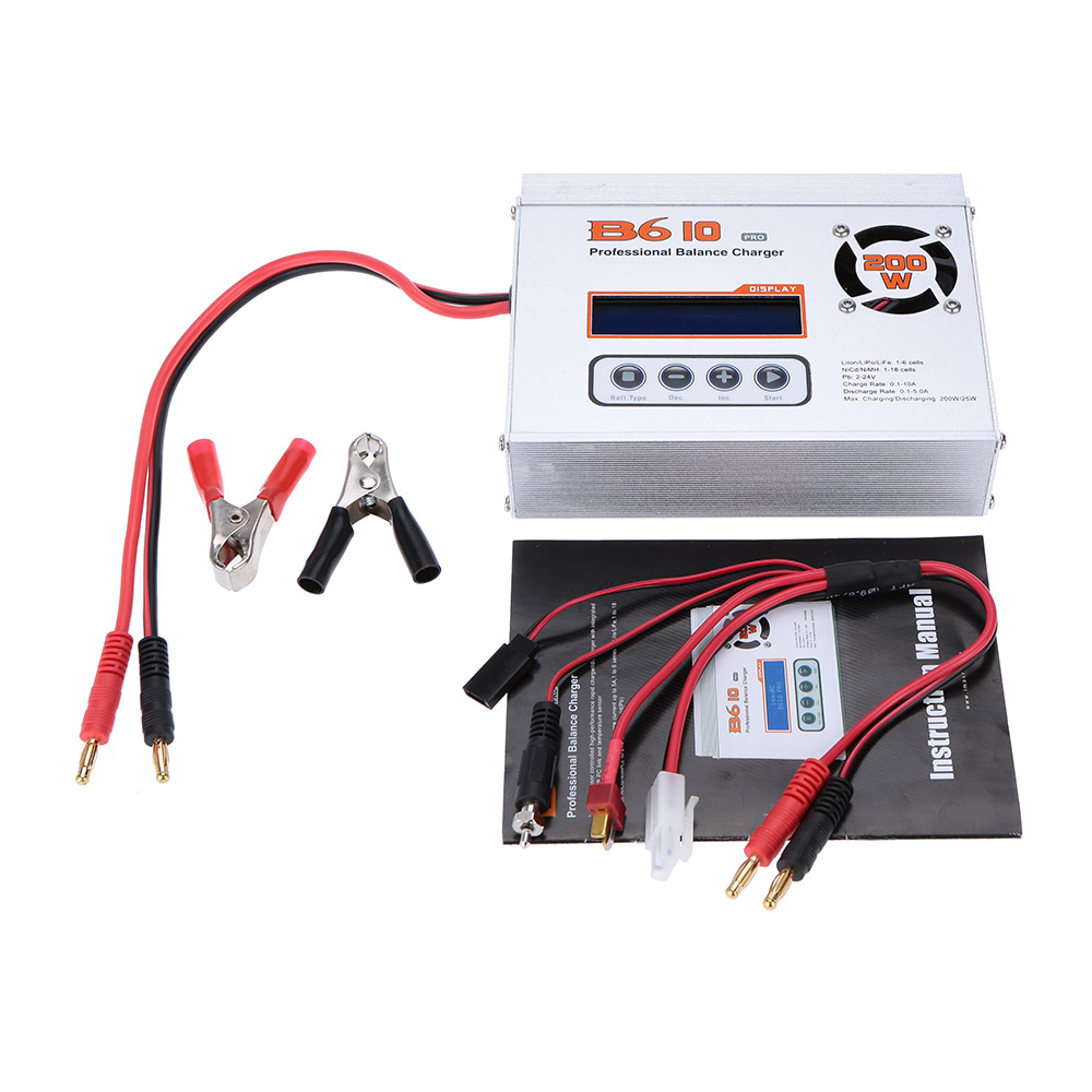 Original Imaxrc B610 Pro 200w Lipo Life Lion Nicd Nimh Battery Imax Rc B6 Professional Multifunctional Balance Charger Discharger