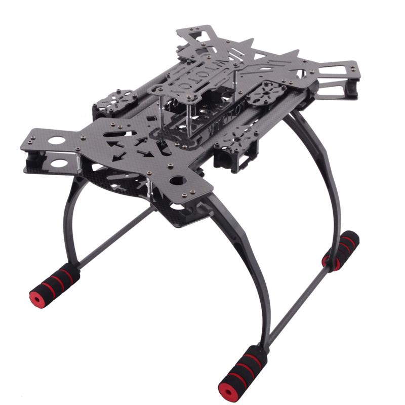 HJ-H4 Reptile 4 Achse Quadcopter Kohlefaser-faltbare Rahmen Kit mit ...