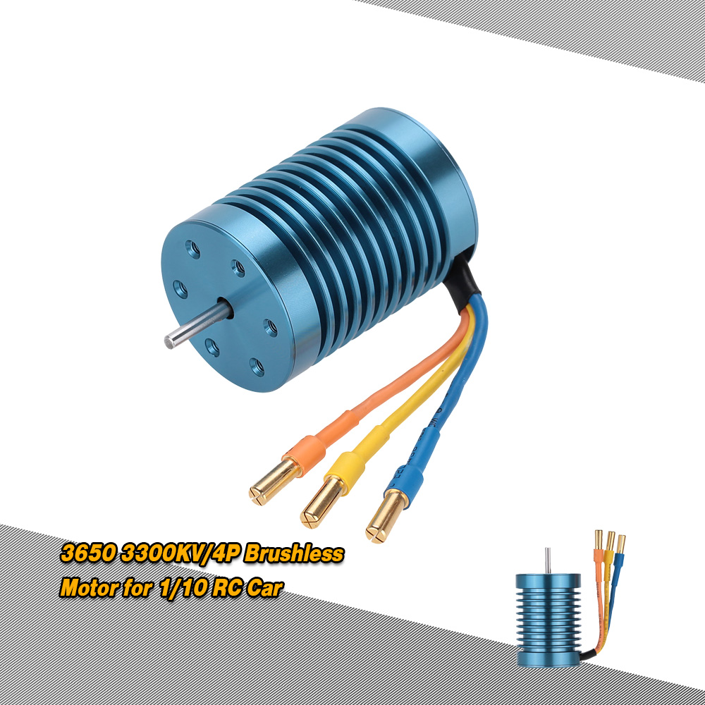 CYW-3650 3300KV/4P Brushless Motor for 1/10 RC Car - RcMoment.com
