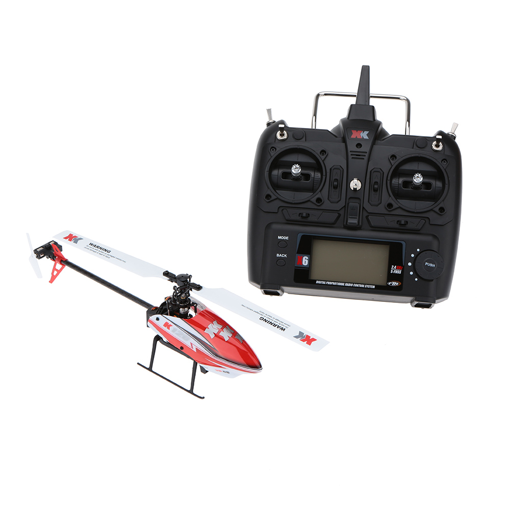 Original XK Falcon K100 B 6CH 3D 6G System BNF RC Helicopter