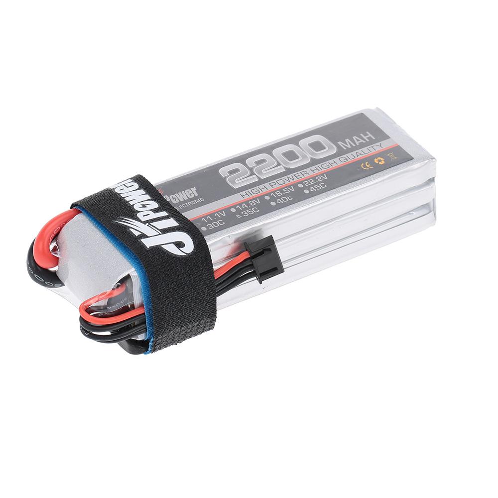 jhpower 11 1v 2200mah 35c 3 s lipo batterie avec prise t pour voiture rc avion h licopt re. Black Bedroom Furniture Sets. Home Design Ideas