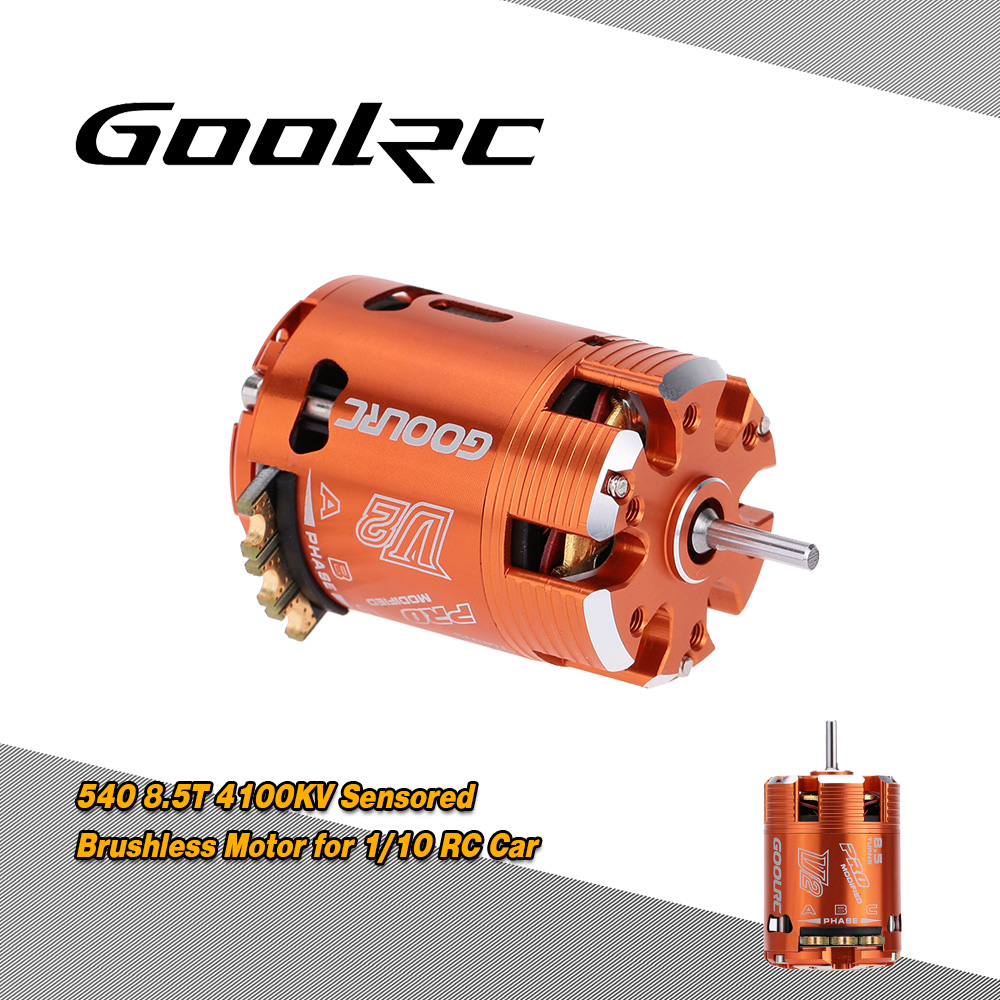 Goolrc 540 85t Sensored Brushless Motor For 1 10 On Road Drifting North Star Capacitor Wiring Diagram