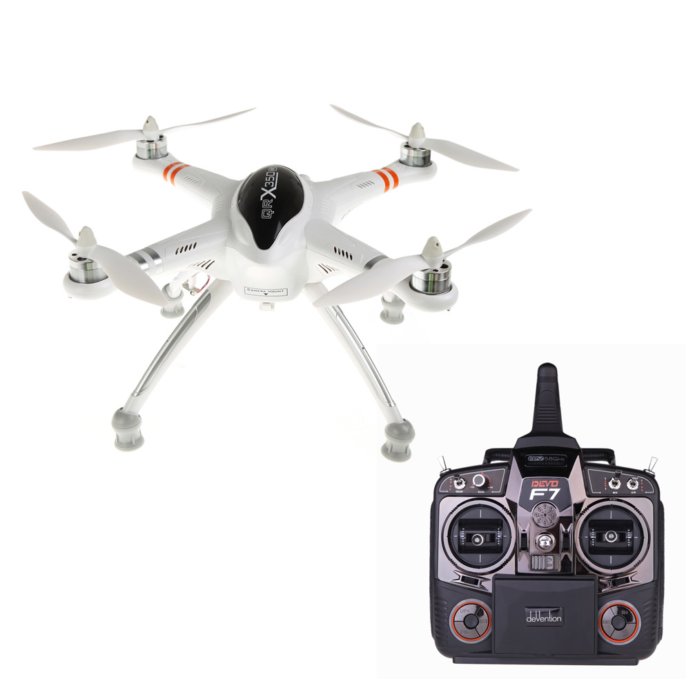 100% Original Walkera QR X350 Pro RC FPV Quadcopter Multirotor w/ DEVO F7  Transmitter iLook Camera G-2D Gimbal Aerial Photography - RcMoment com