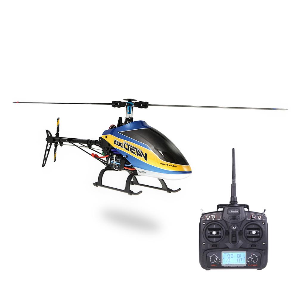 Elicottero 450 : Walkera v450d03 6ch 450 fbl rc elicottero w devo 7 trasmettitore