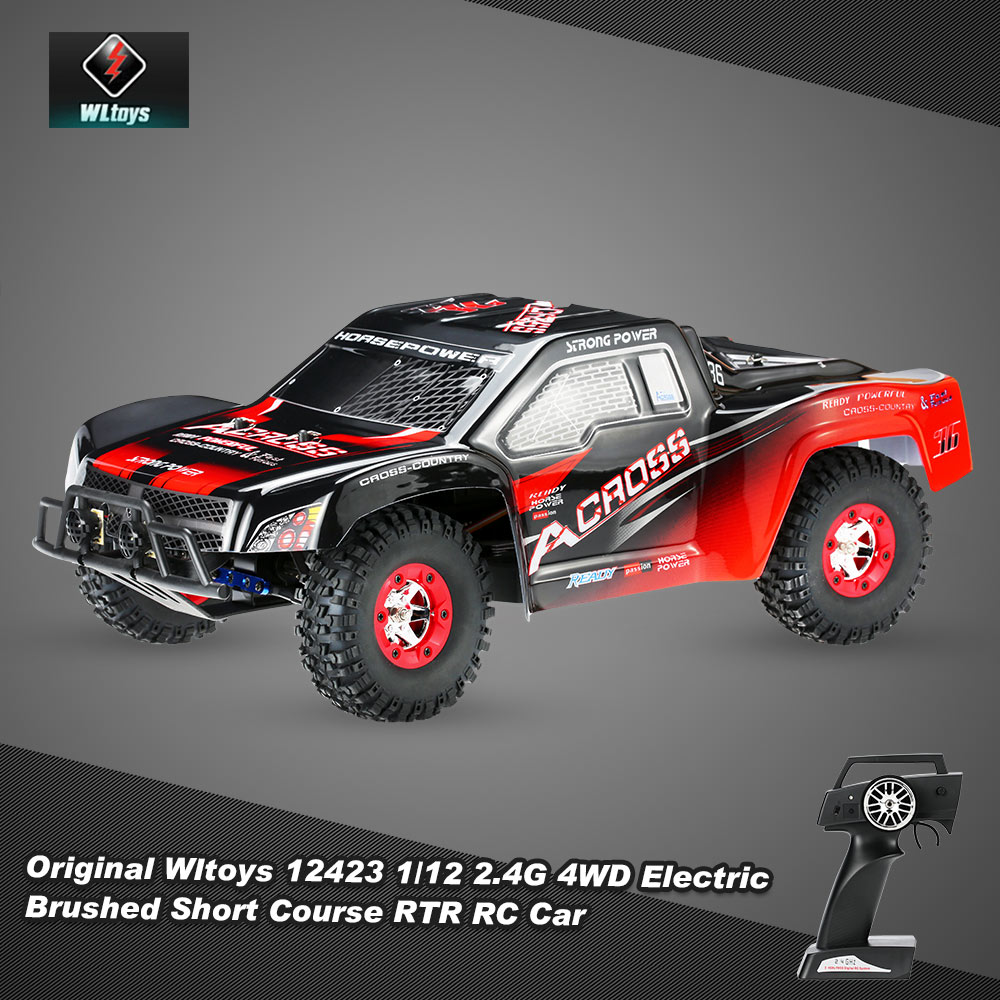 Only $94.99 For Wltoys 12423 1/12 RTR RC Car with code EJ5682