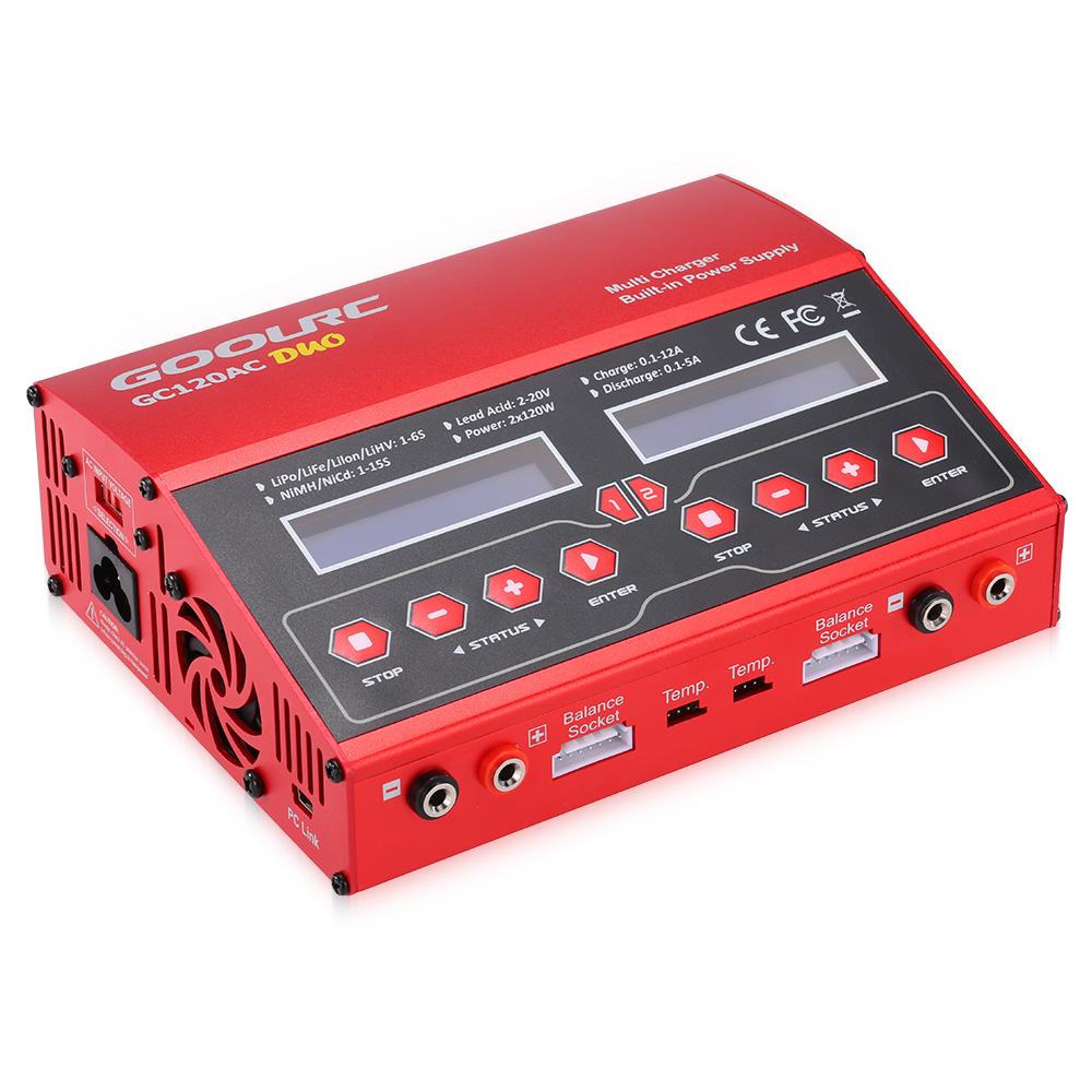 Original goolrc gc120ac 240w cargador descargador de - Cargador de baterias ...