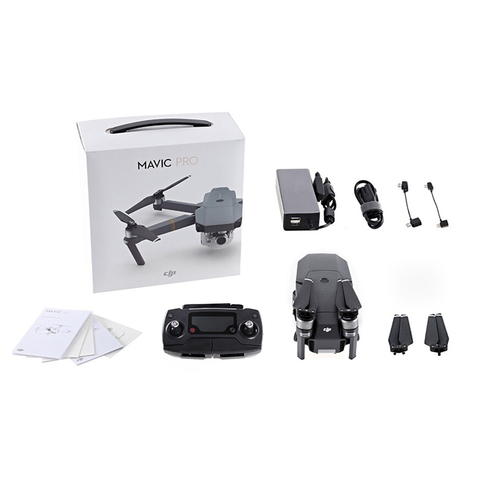 Get  Extra $290 off  DJI Mavic Pro Portable Mini Drone FPV RC Quadcopter with  Controller 4K Camera   Only 709.99$ with code  shipped US
