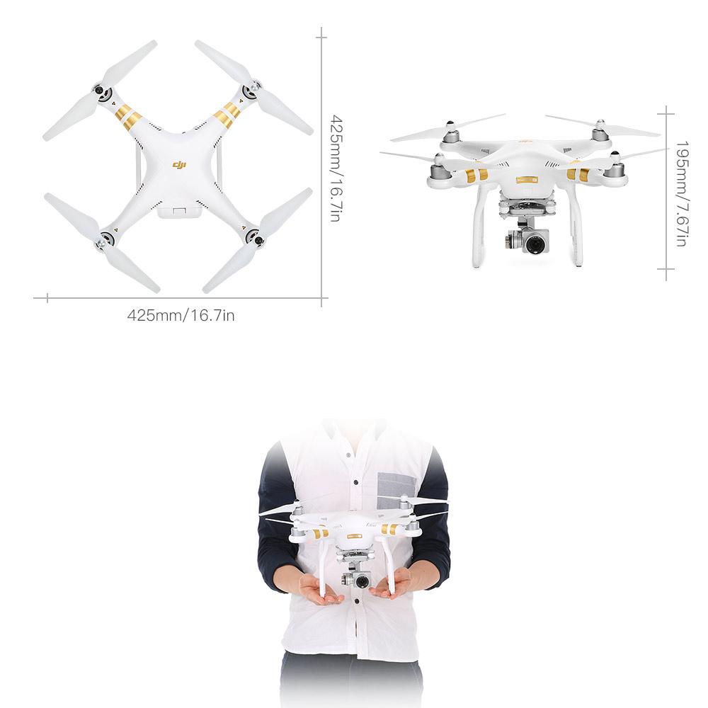 Original DJI Phantom 3 SE Wifi FPV 4K UHD Camera Drone 4km Long-distance  Control Vision Positioning System GPS Quadcopter