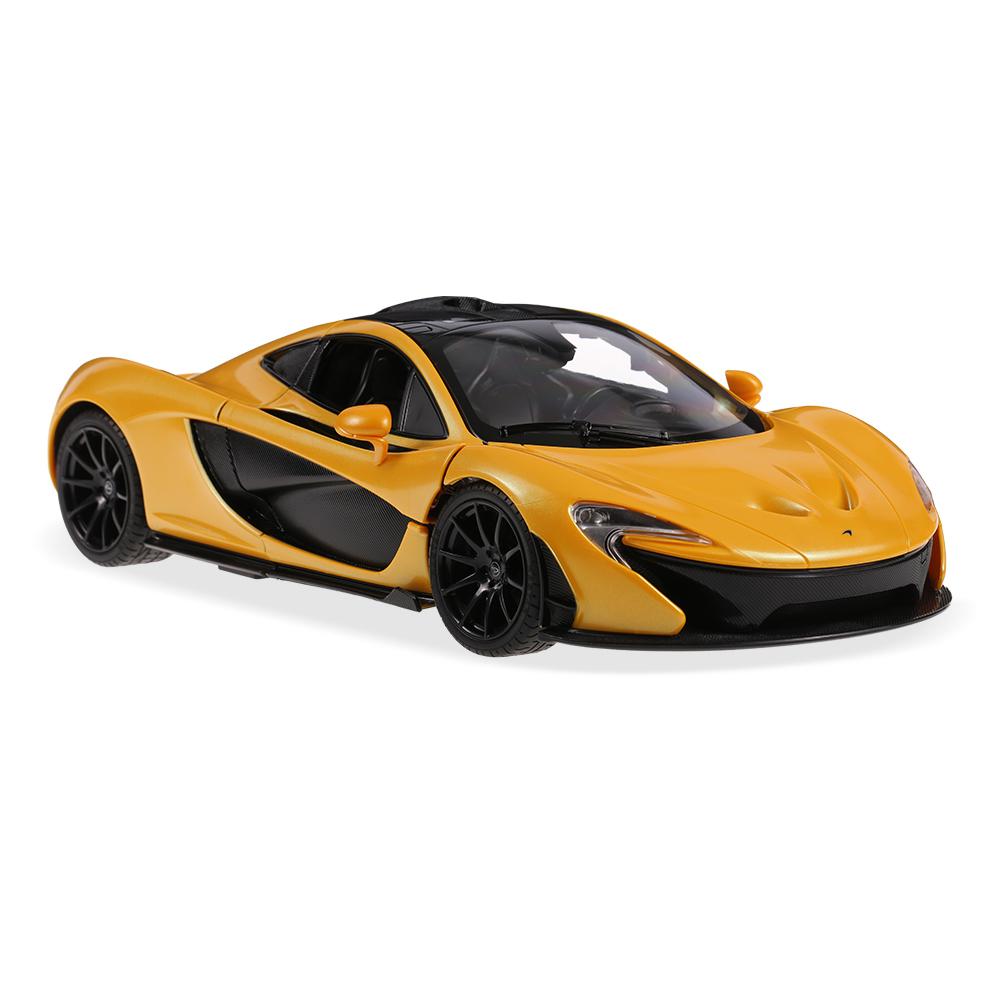 Charmant RASTAR 75110 27MHz 1/14 McLaren P1 RC Super Sports Car Simulation  Model With