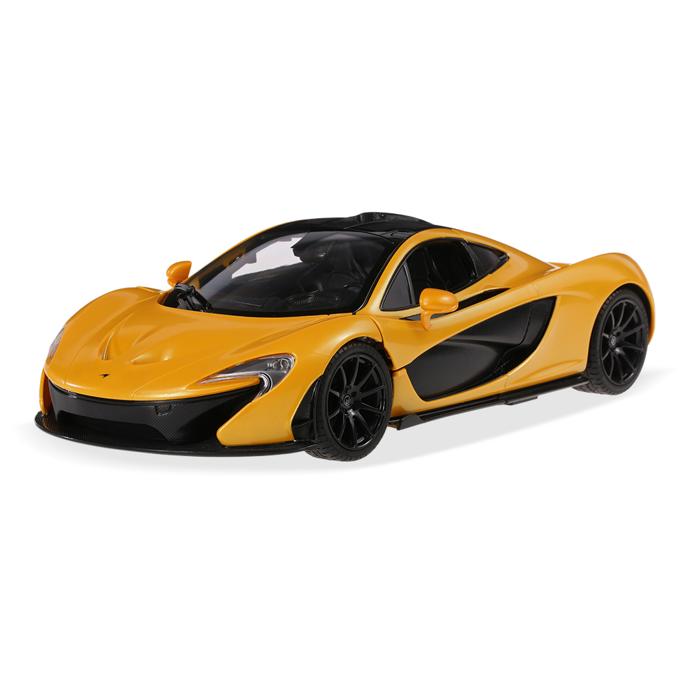 RASTAR 75110 27MHz 1/14 McLaren P1 RC Super Sports Car Simulation Model  With Manual Open Door RTR