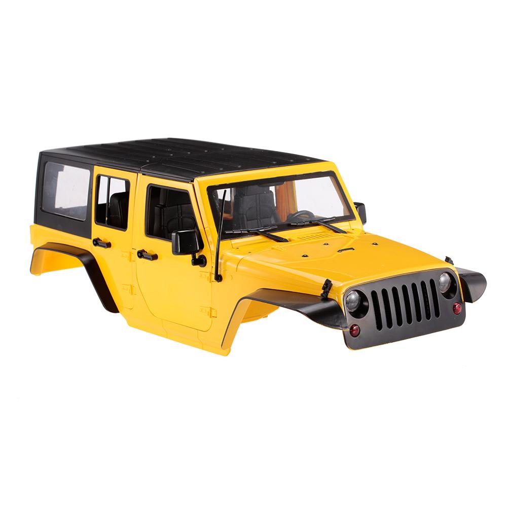 haute qualit rc rock crawler 1 10 crawler voiture shell pour axial scx10 rc4wd d90 d110 dur en. Black Bedroom Furniture Sets. Home Design Ideas