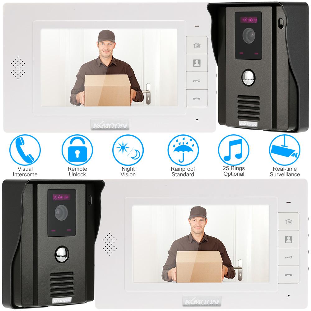 KKmoon® 7  Video Door Phone CCTV Camera Home Security System  sc 1 st  LovDock & black KKmoon® 7