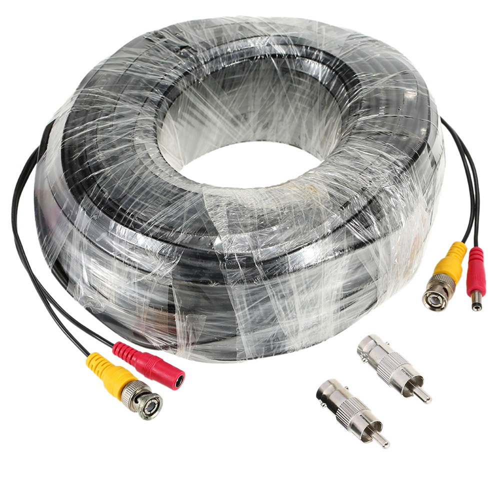 Circuit Tracers And Analyzers Amazon 98ft30m Bnc Video Power Siamese Cable For Surveillance Camera Dvr Kit