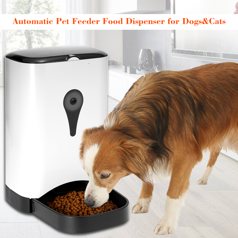 Automatic Pet Feeder Food Dispenser For Dogs Amp Cats Features