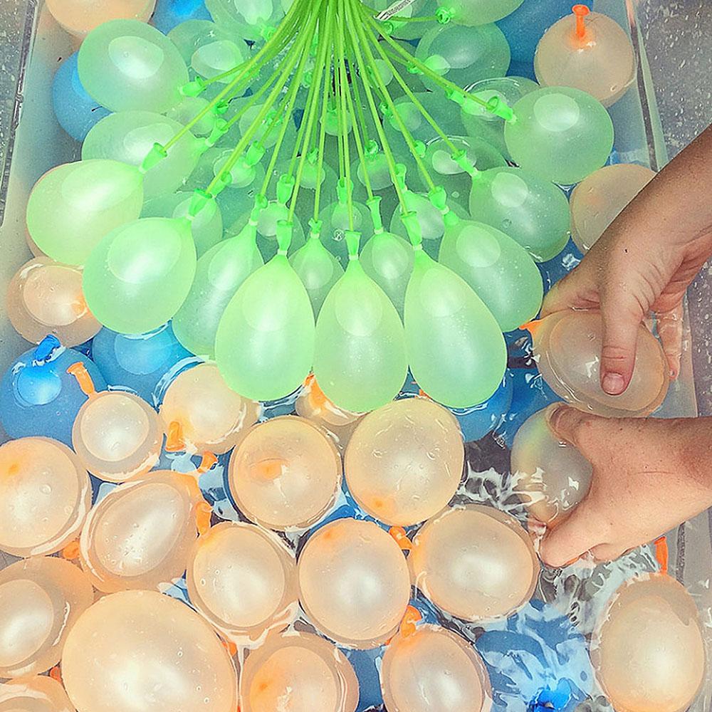 Simulado Zuru Bunch Of Balloons 4 Sets Globos De Agua Instantaneos