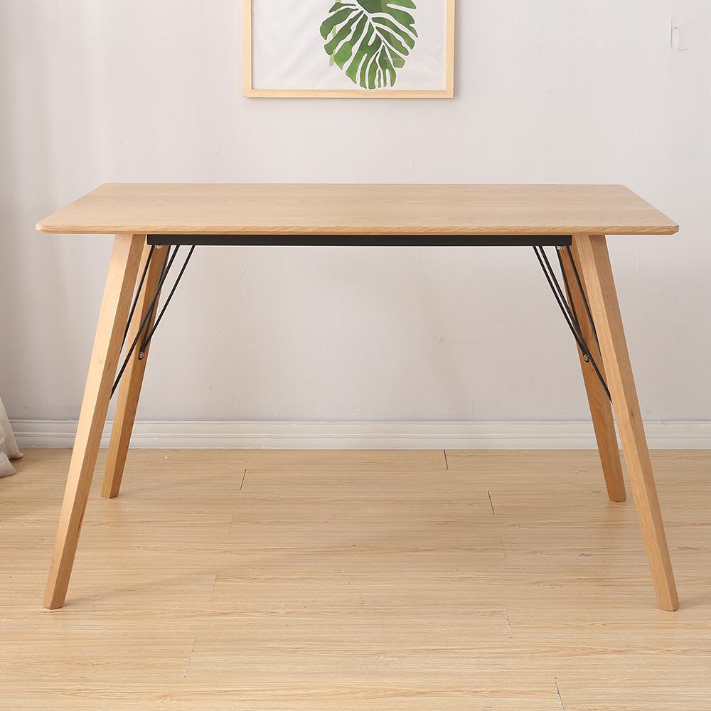 Table de salle manger en bois design scandinave 4 6 for Table de salle a manger 6 personnes jimi