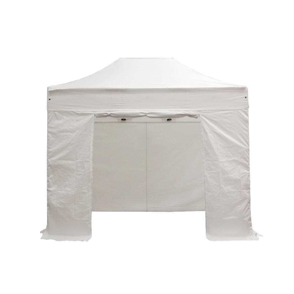Nur 407.00€, weiß Komplettset Faltpavillon 2x3 m Alu 40, Polyester ...