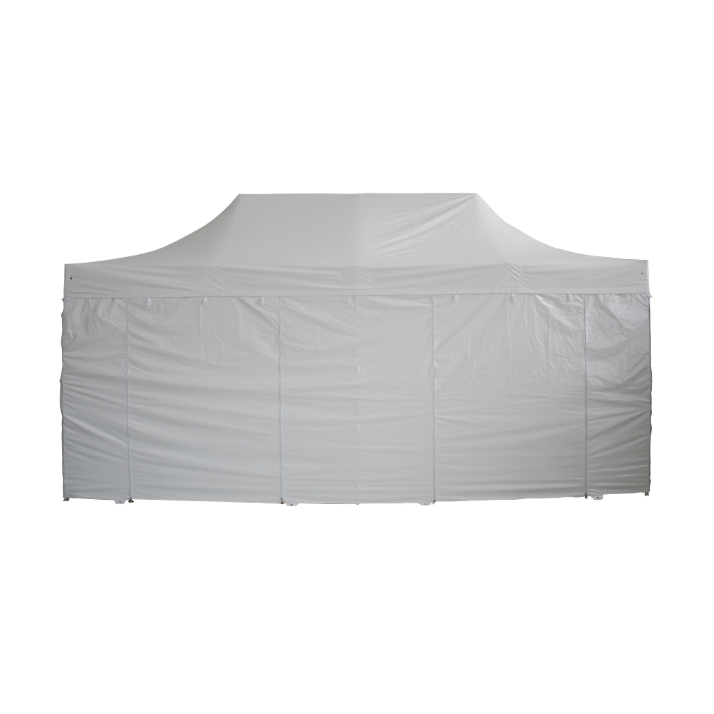 barnum pliant pro 3x6 pack complet blanc alu 50 pvc 520g m. Black Bedroom Furniture Sets. Home Design Ideas