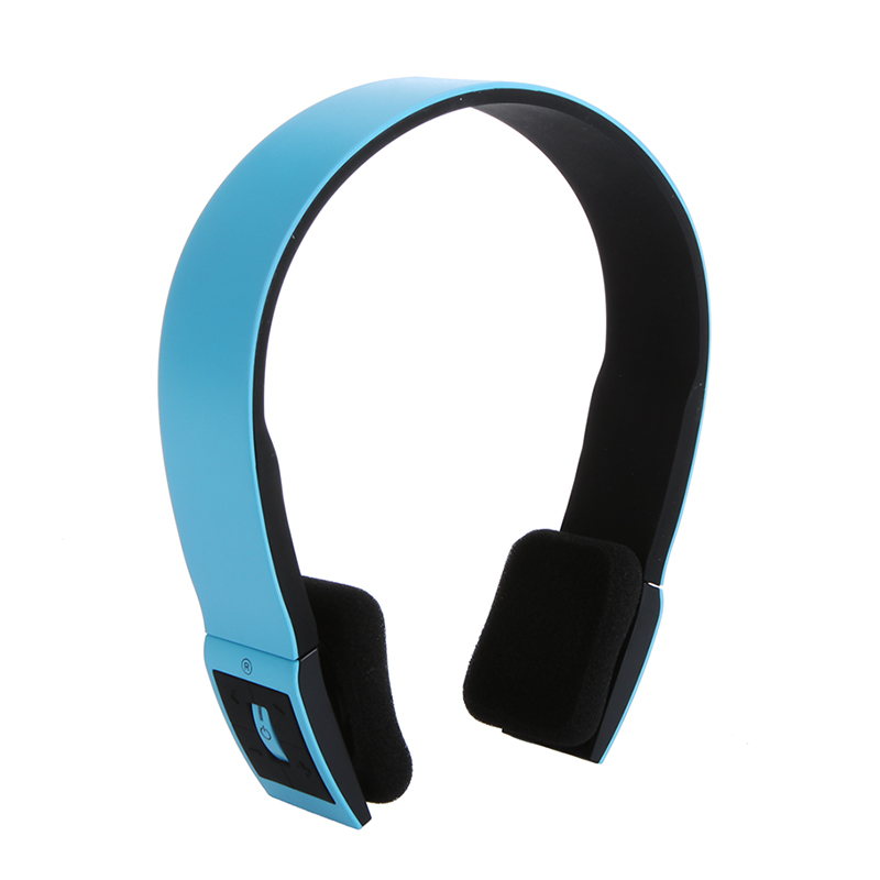 2 4g Wireless Bluetooth V3 0 Edr Headset Headphone With Mic For Iphone Ipad Smartphone Tablet Pc Blue