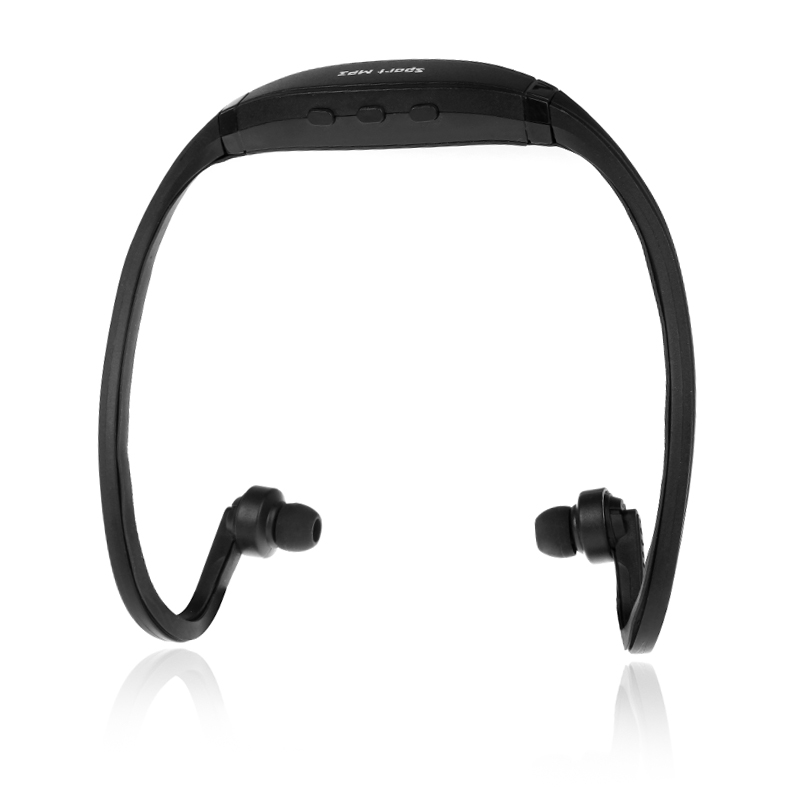 Docooler Sport MP3 WMA Music Player TF/ Micro SD Card Slot Headset Headphone Earphone Black