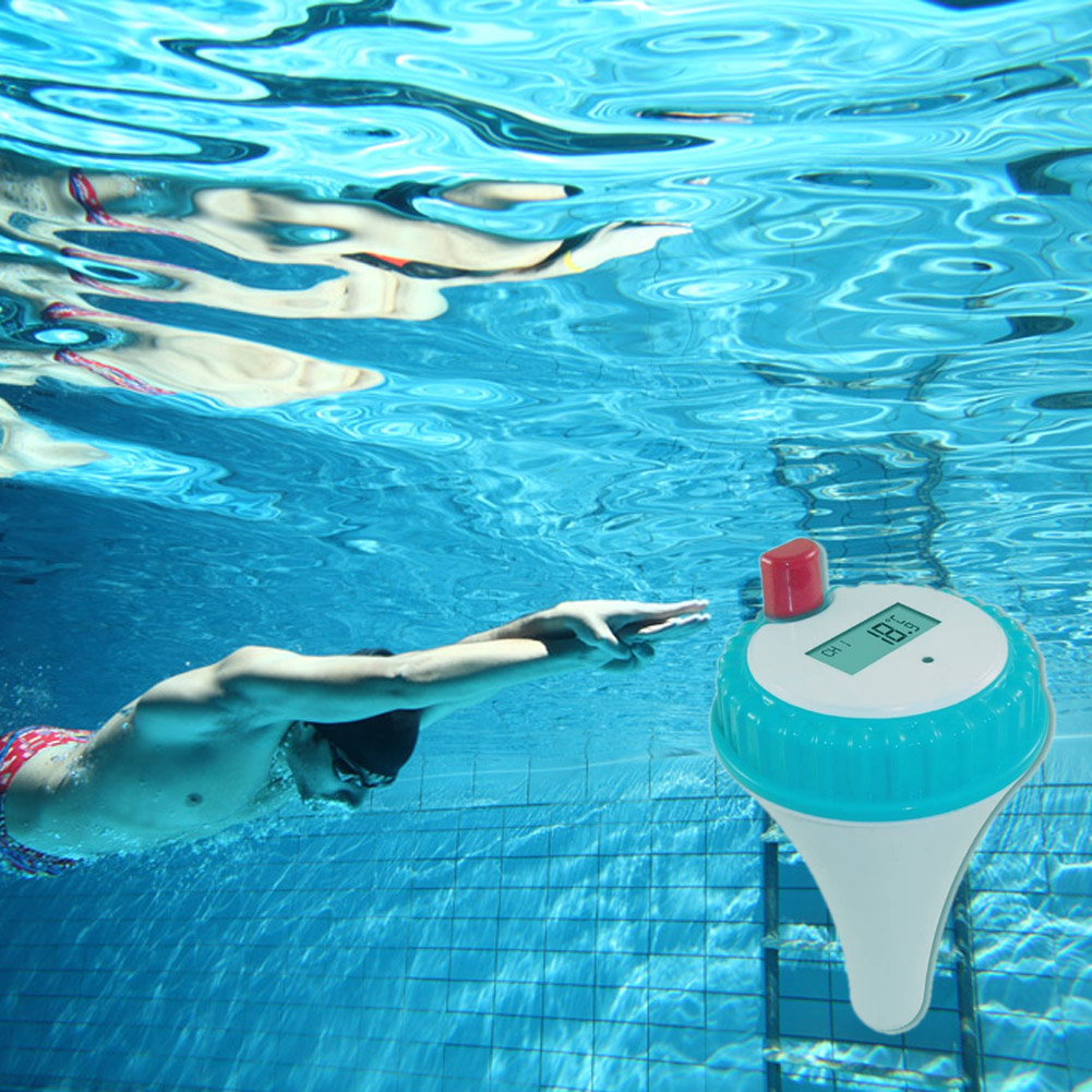 Thermometre Piscine Original only 15.67€, numérique thermomètre sans fil flottant de température