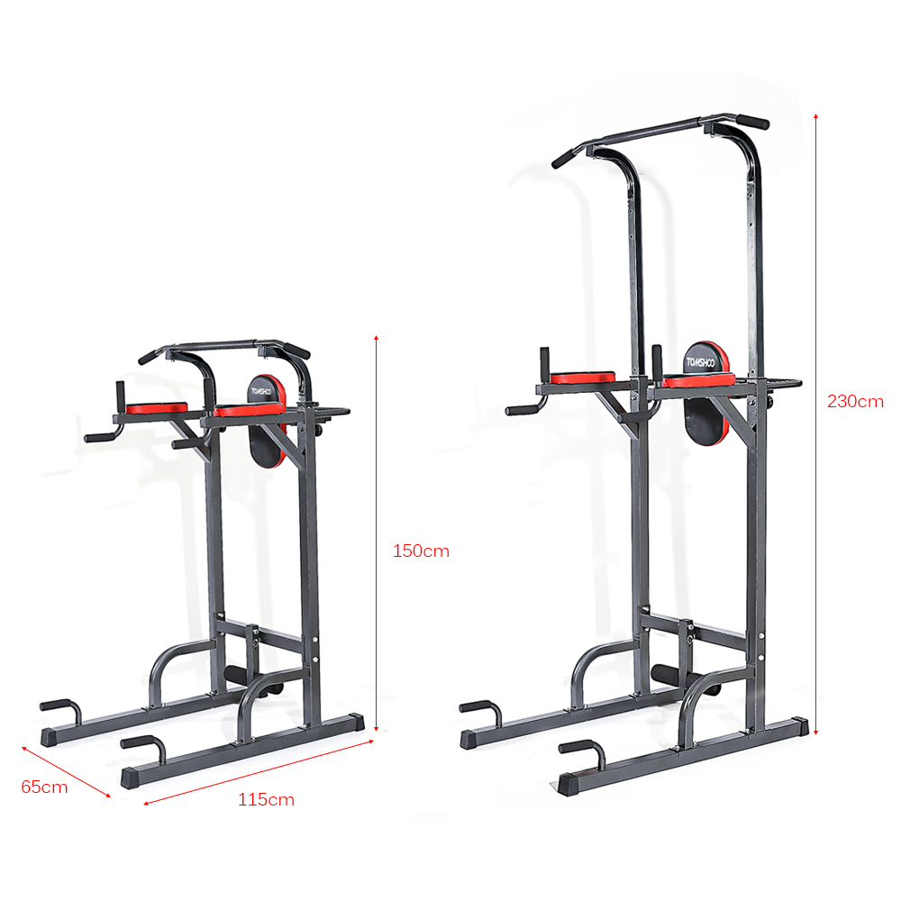 Tomshoo adjustable fitness equipment home gym sturdy steel