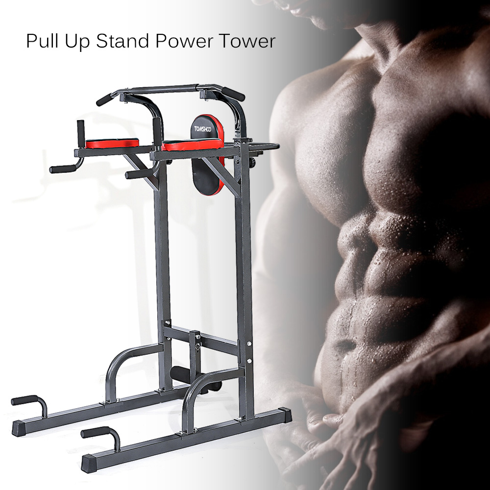 8233f5ab007 TOMSHOO Adjustable Fitness Equipment Home Gym Sturdy Steel ...