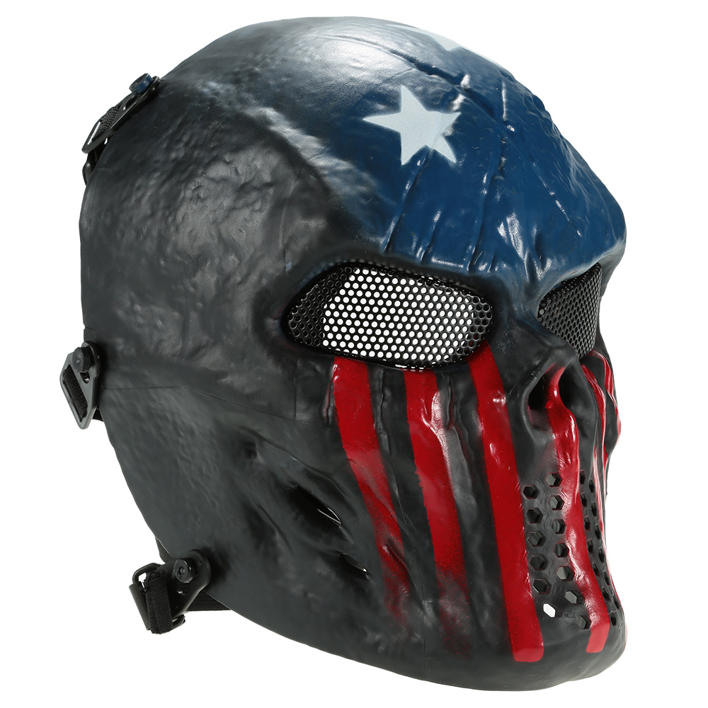 Outdoor Wargame Tactical Mask Full Face Airsoft Paintball CS Army Mask