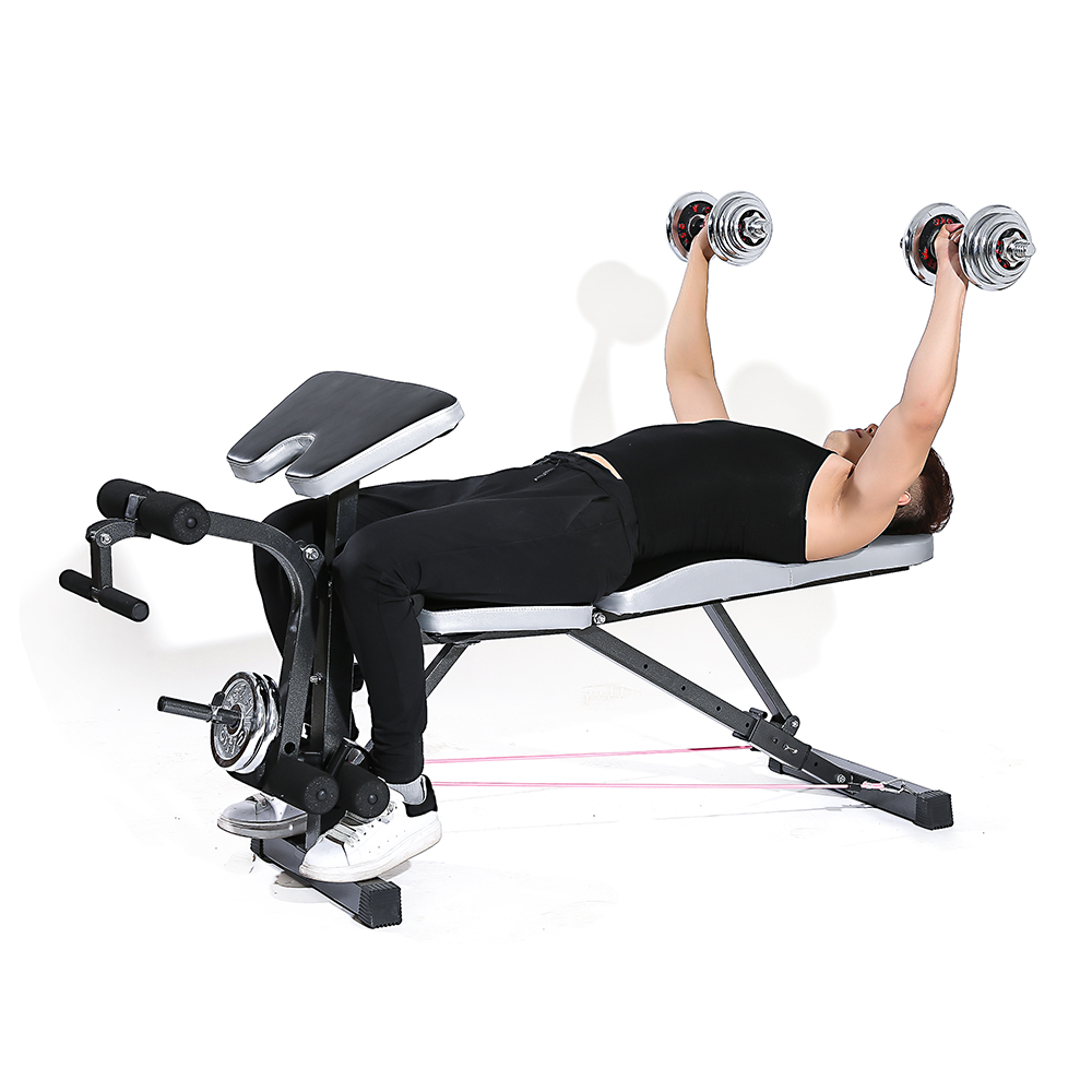 Tomshoo exercise barbell squat rack home gym fitness