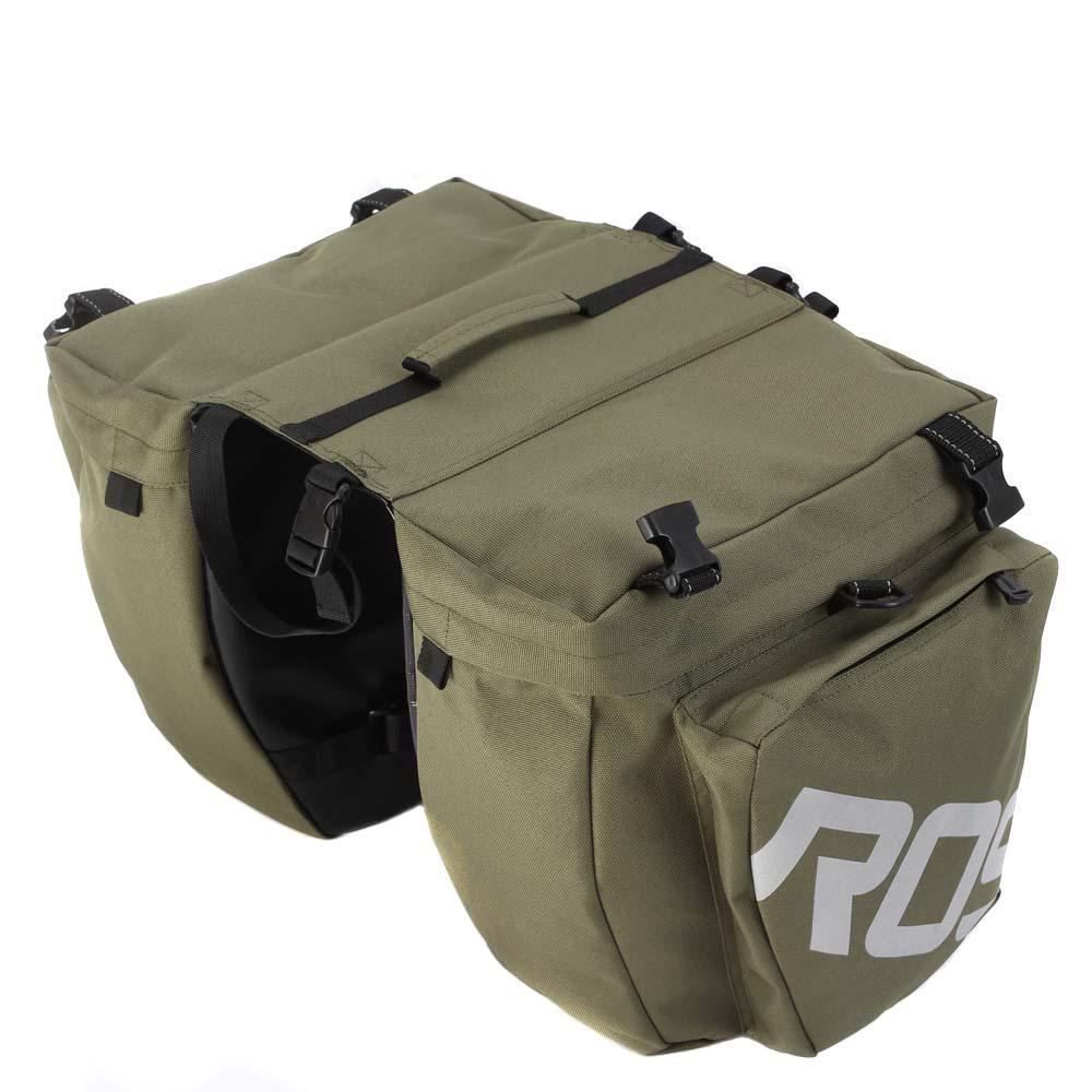 Lixada 3 In 1 Multifunction Road Mtb Mountain Bike Bag Bicycle Pannier Rear Seat Trunk