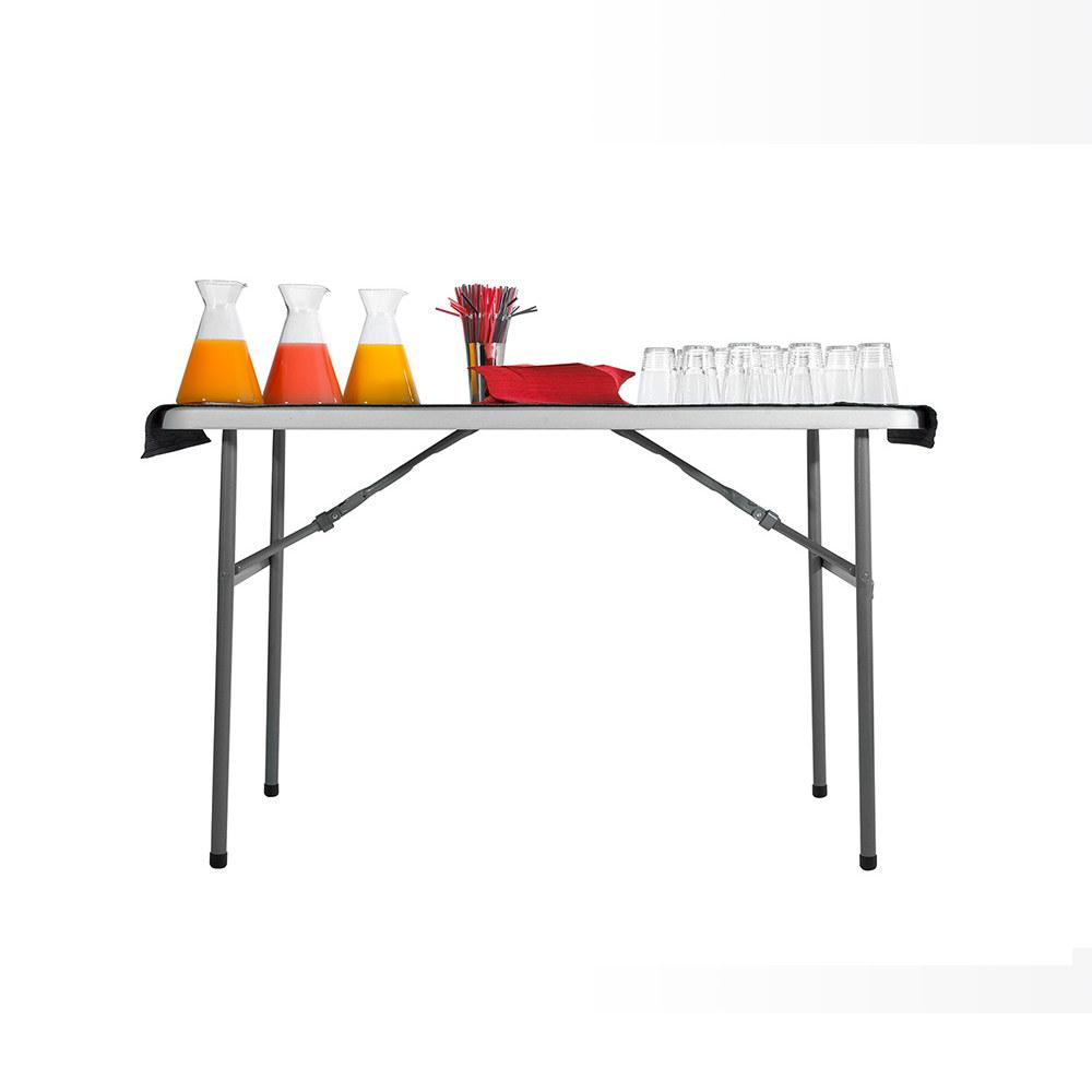 Table de r ception table pliante de jardin 120cm plateau - Table de reception pliante ...