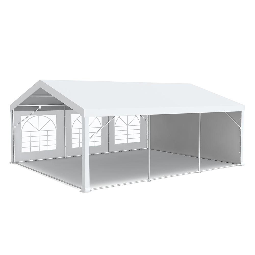 chapiteau barnum de r ception 5x6m pvc 500g m tubes 50mm blanc. Black Bedroom Furniture Sets. Home Design Ideas