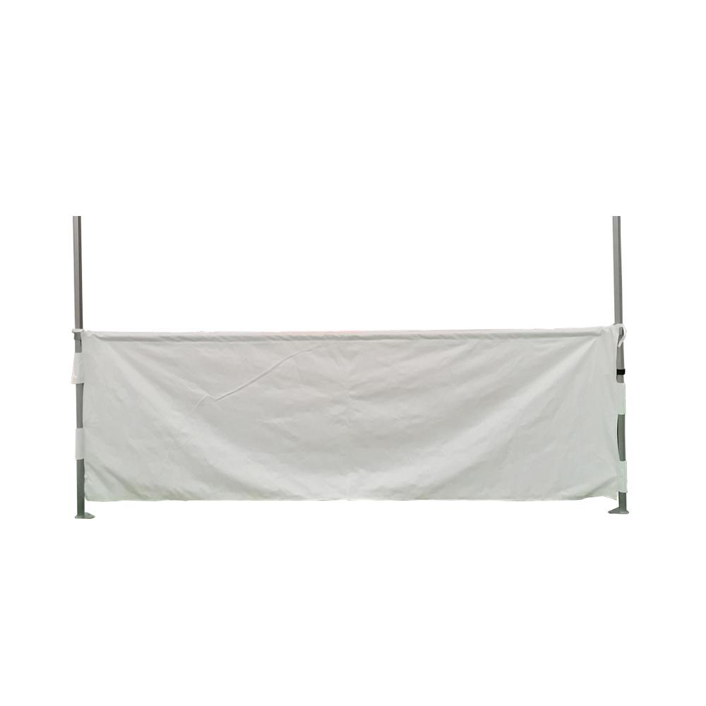 Demi rideaux 3m pour tente pliante connexion 40mm
