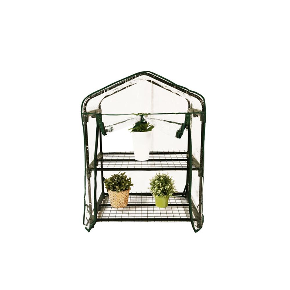 Mini Serre de Jardin Botanique 2 étagères 69x49x95cm à seulement 16.50€ sur  Interouge.com