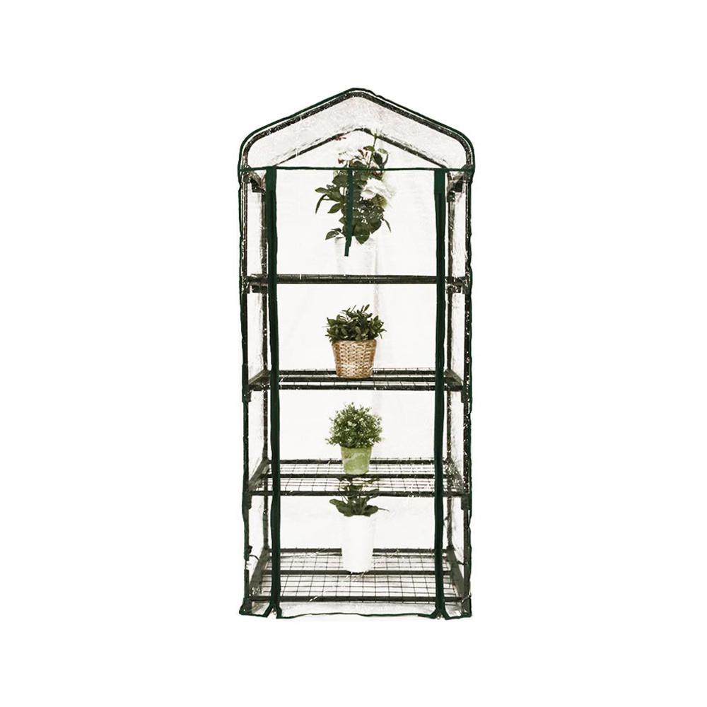 mini serre de jardin botanique 4 tagres 69x49x158cm - Mini Serre De Jardin