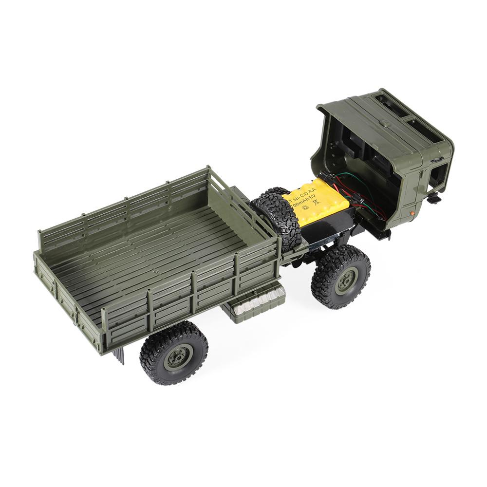 wpl b 24 1 16 2 4ghz militaire camion rc v hicule hors. Black Bedroom Furniture Sets. Home Design Ideas