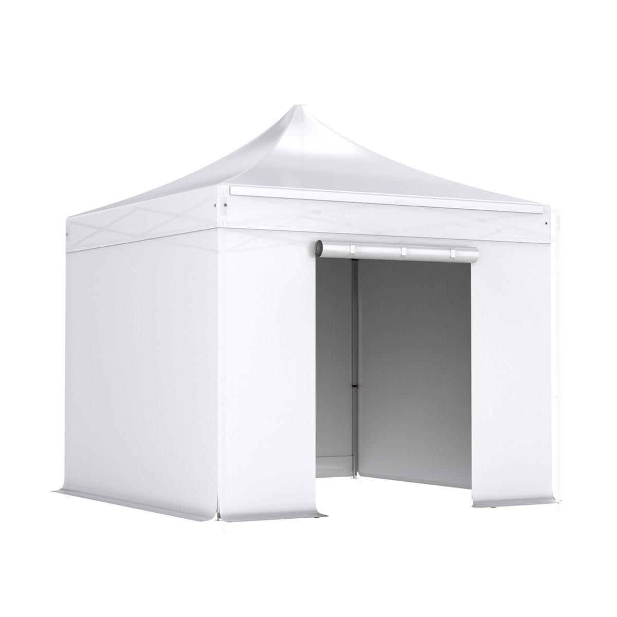 Stahl 32 mm Faltpavillon Komplett Set 3x3m, Planen 300g/m²