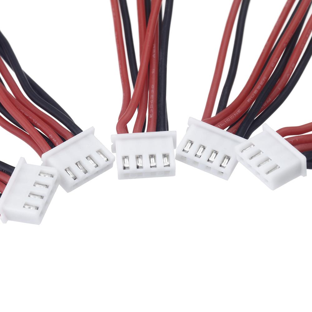 5er Pack XH 2,5 mm 5-poligen Stecker Erweiterung Draht Länge 100mm ...