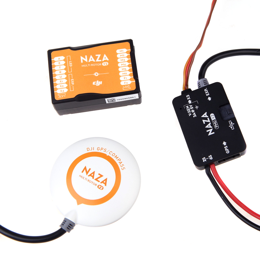 Original DJI NAZA V2 Flight Controller w/ GPS & PMU V2 for Multirotor  Quadcopter (DJI NAZA V2;Quadcopter NAZA V2 Flight Controller;NAZA V2 GPS)