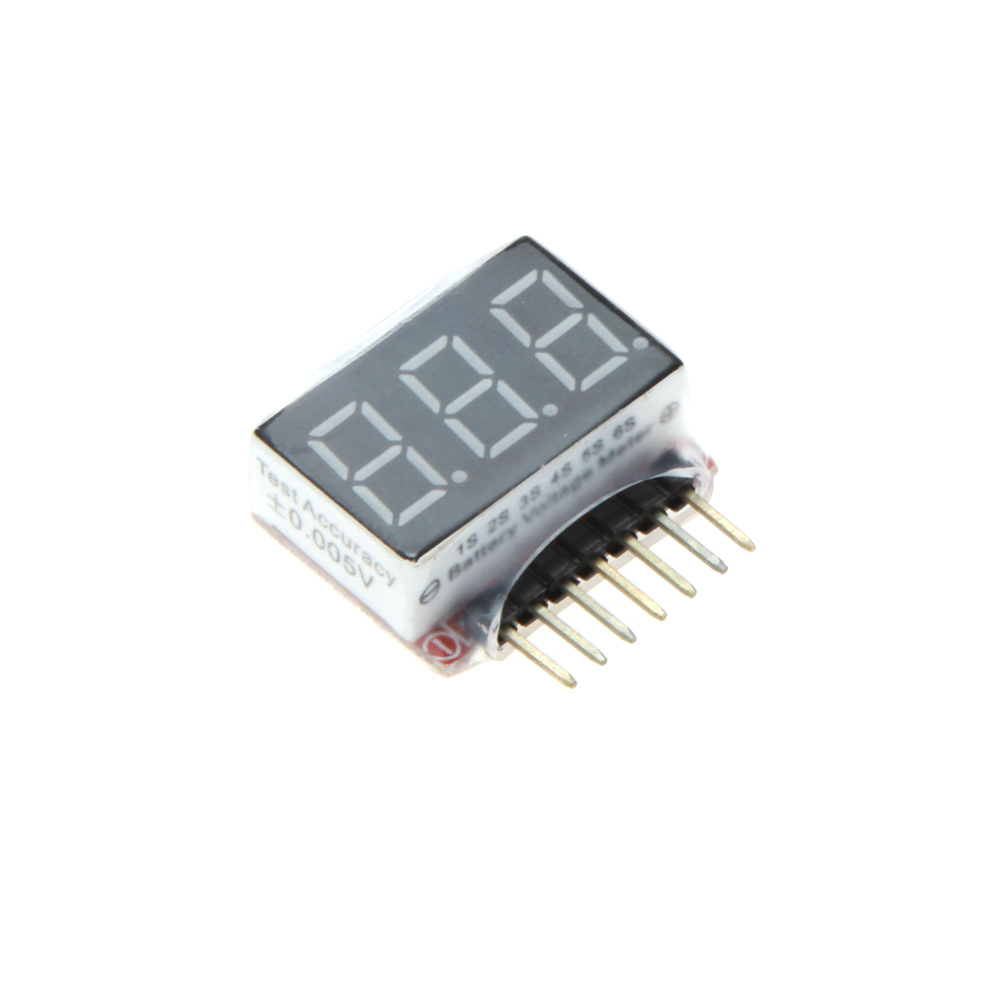 1s 6s Led Voltage Tester Lipo Battery Indicator Checker For Circuit Rc Model