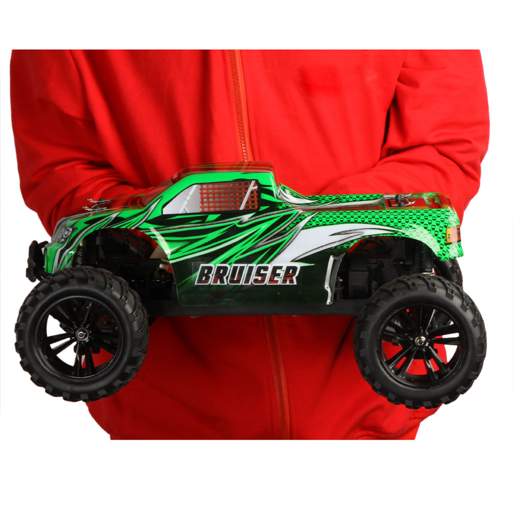 yikong inspira e10mt 1 10th scale 4wd electric brushed monster truck car rtr. Black Bedroom Furniture Sets. Home Design Ideas