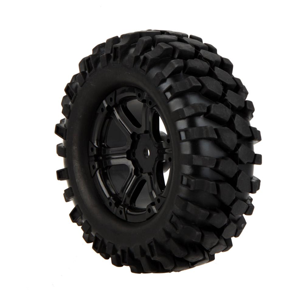 goolrc 4pcs haute performance 1 10 grimpeur voiture tout terrain roue jante et pneu 210041 pour