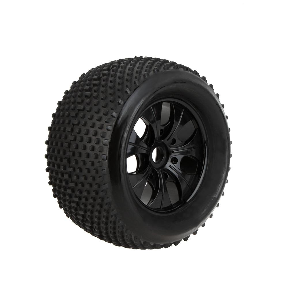 GoolRC 2Pcs RC 1/8 Truck Car Wheel Rim And Tire 810011 For