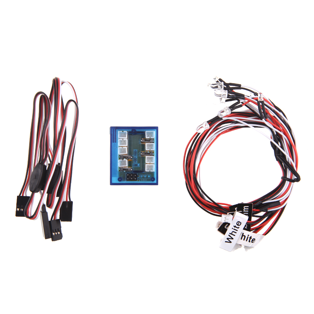 GoolRC No Solder Realistic New Highlight 12-LED Lighting Kit for RC ...