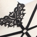 Sexy Women Lingerie Bandage Bra Lace Halter Neck Hollow Out Bustier Bralette Elastic Cage Erotic Strappy Camis Vest