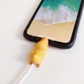 Cute Animal Bite Cable Data Protector Winder Organizer