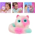 Pomsies Patches Smart Interactive Plush Toys Touch Induction Pet Lovely Puppet for Children Teens